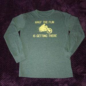 Gap Graphic Long Sleeve Shirt